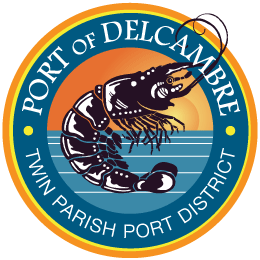 Port of Delcambre logo.